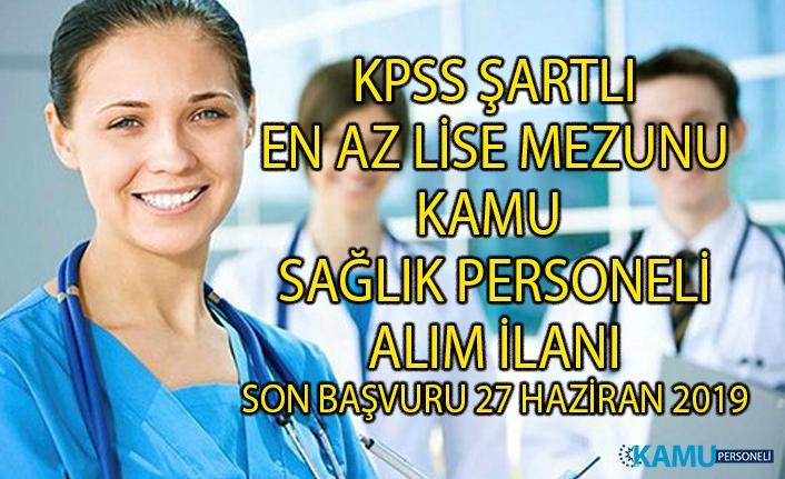 En az lise mezunu hemşire ve sağlık teknikeri personel alım ilanı! Recep Tayyip Erdoğan Üniversitesi'ne KPSS şartlı sözleşmeli memur alımı yapılacaktır!