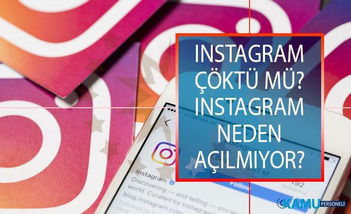 Instagram Çöktü Mü? 18 Haziran Instagram Akış Yenilenmiyor Sorunu Çözümü! Instagram Neden Açılmıyor?