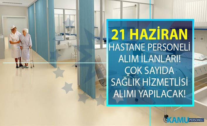 İŞKUR 21 Haziran yeni iş ilanları! İŞKUR hastane personeli alım ilanları iş başvurusu!