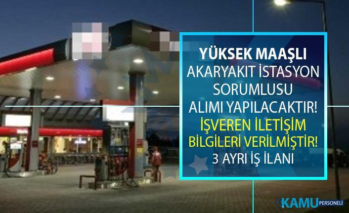 İŞKUR, İzmir ve Sivas ilinde akaryakıt istasyon sorumlusu personeli alımı yapıyor!