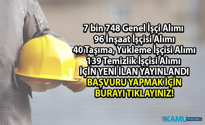 İŞKUR tarafından 8 Bin 23 Daimi işçi alımı yapılacaktır! İŞKUR'a kayıt nasıl yapılır?
