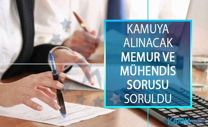 Kamuya Alınacak Memur ve Mühendis Sorusu Cumhurbaşkanı Yardımcısı Fuat Oktay'a Soruldu!