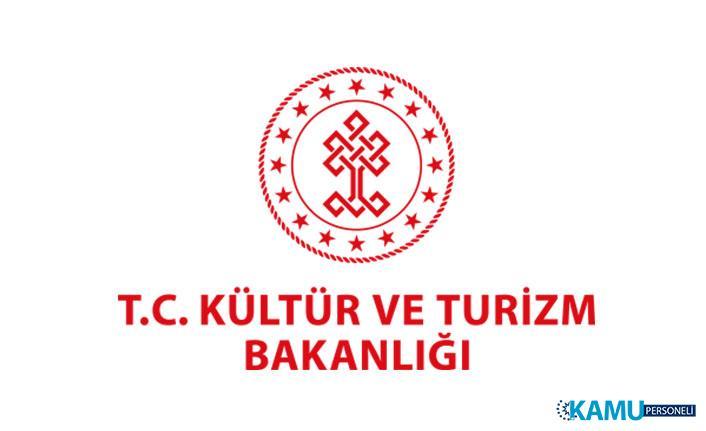 Kültür Varlıkları ve Müzeler Genel Müdürlüğü İşçi Alım İlanı Yayımladı!