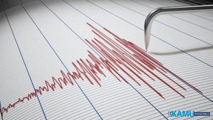 Marmara Denizi'nde Deprem! İstanbul'da Hissedildi! AFAD Son Depremler Listesi