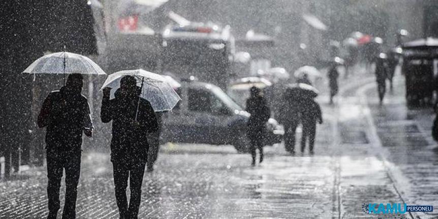 Meteoroloji'den son dakika Bolu, Düzce, Sakarya, Kocaeli ve Bilecik çevrelerine kuvvetli yağış uyarısı