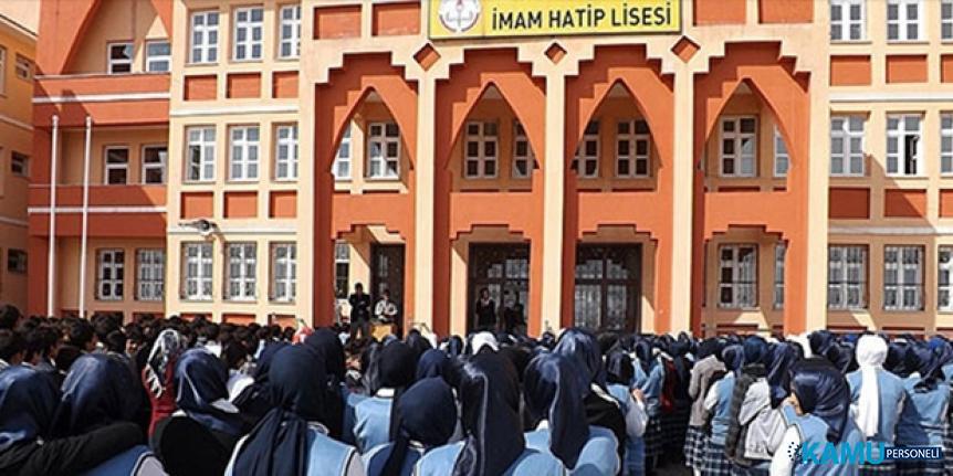 Milli Eğitim Bakanlığı (MEB)'den imam hatip liselerine toplam 9.4 milyar TL harcama
