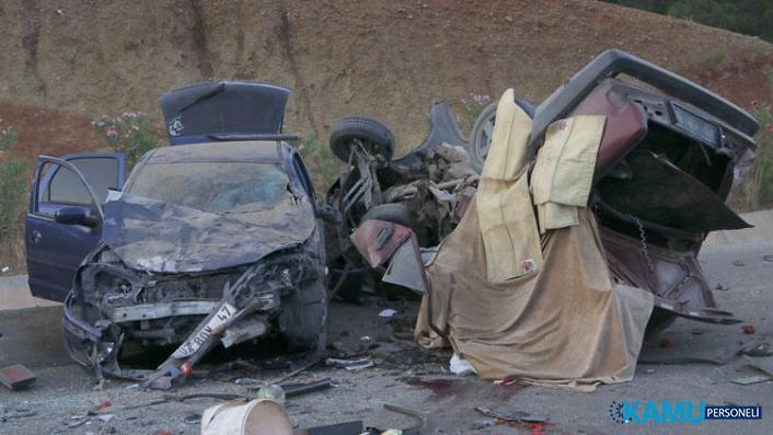 Muğla'da Korkunç Trafik Kazası! 2 Kişi Öldü, Biri Bebek 6 Kişi Yaralandı!