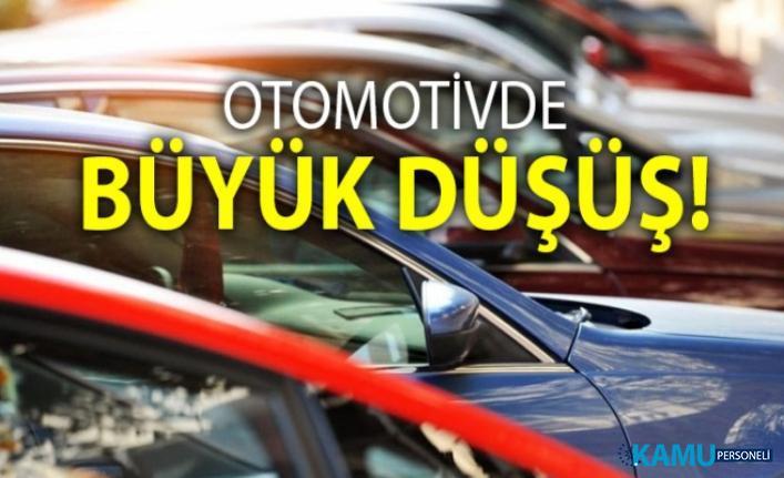 Otomobil satışlarında büyük düşüş! Otomotiv sektöründeki daralma yüzde 55 oldu