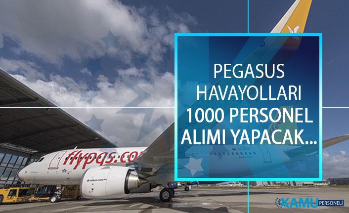 Pegasus Havayolları 1000 Personel Alımı Yapacak! Pegasus Havayolları 1000 Personel Alımı Başvuru Şartları Nelerdir?