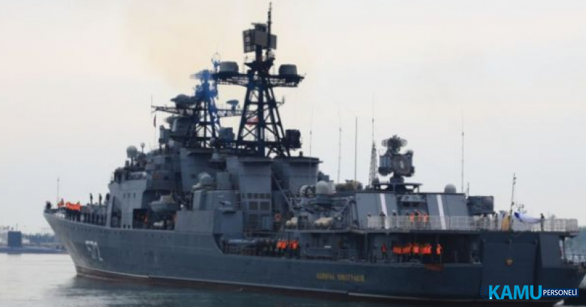RUS ve ABD savaş gemileri Pasifik Okyanusu'nda çarpışma noktasına geldi