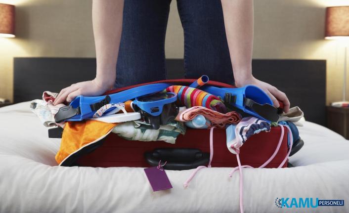 Seyahate Çıkarken Bavula Sığamamaya Son!  Kolay Bavul Nasıl Hazırlanır?