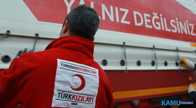 Türk Kızılayı Kariyer İş İlanları! Türk Kızılayı Personel Alım İlanı Yayımladı