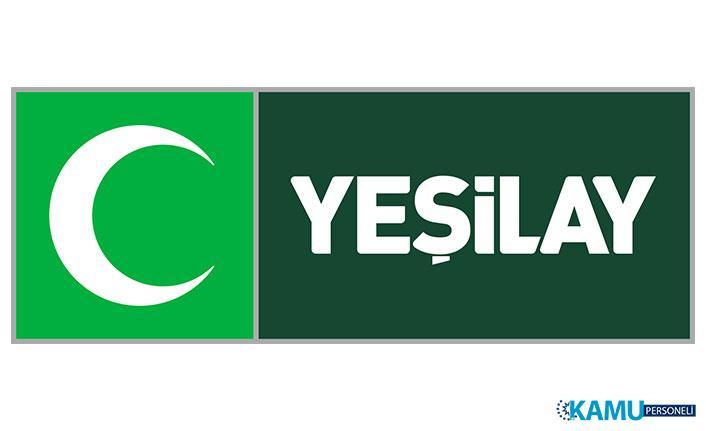 Türkiye Yeşilay Cemiyeti Personel Alım İlanı Yayımladı! Yeşilay Personel Alımı 2019