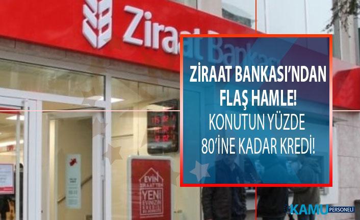 Ziraat Bankası  'Enflasyona Endeksli Konut Kredisi'ni kullanıma sundu: Satın alınacak konutun yüzde 80'ine kadar kredi kullandırılabilecek