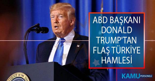 ABD Başkanı Donald Trump'tan Türkiye Hamlesi! Cumhuriyetçi Senatörleri Beyaz Saray'a Davet Etti