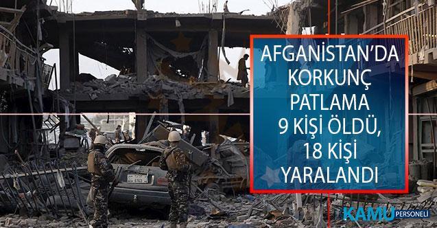 Afganistan'ın Güneyindeki Kandahar Vilayetinin Hakriz İlçesinde Patlama! 9 Kişi Öldü