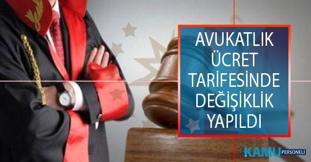 Avukatlık Ücret Tarifesinde Değişiklik Yapıldı! 2019 Avukatlık Ücretleri Ne Kadar?