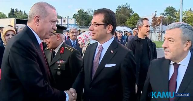 Cumhurbaşkanı Erdoğan ve Ekrem İmamoğlu ve Seçimden Sonra İlk Kez Aynı Karede!