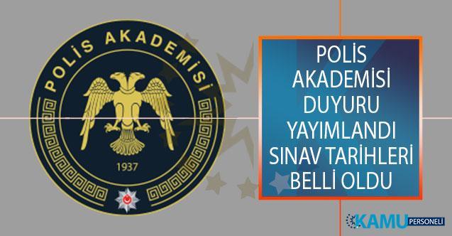 Emniyet Genel Müdürlüğü (EGM) Polis Akademisinden Duyuru Yayımlandı! Güvenlik Bilimleri Enstitüsü ve Trafik Enstitüsü Mülakat Tarihleri Açıklandı