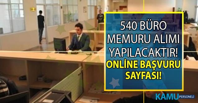 İŞKUR 15 Temmuz KPSS Şartsız en az ilköğretim mezunu tam 540 büro memuru alımı yapıyor!
