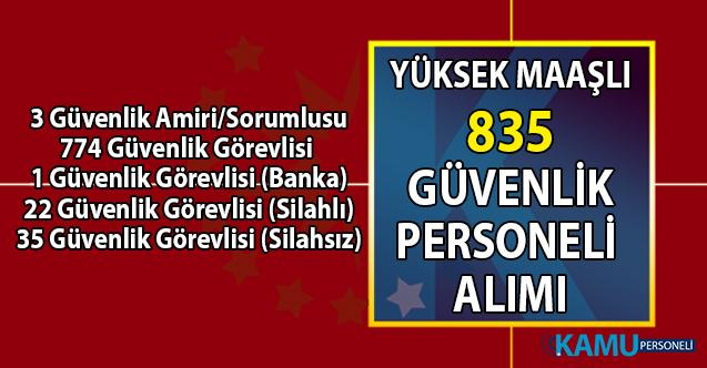 İŞKUR banka ve özel kurumlara yüksek maaşlı 835 güvenlik personeli alımı iş ilanları başvuru şartları!