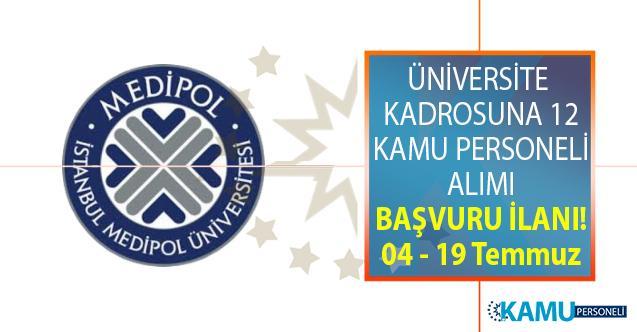 İstanbul Medipol Üniversitesi 12 Öğretim Üyesi alıyor! Peki Öğretim üyesi alımı başvuru şartları nelerdir?