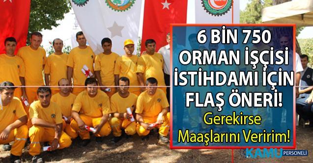 Kılıçdaroğlu'ndan geçici, mevsimlik orman işçisi çalışma süresi hakkında flaş öneri!