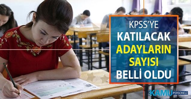 KPSS'ye Katılacak Aday Sayısı Belli Oldu