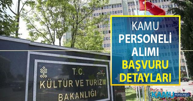 Kültür Bakanlığı Kamu Personeli Alımı Başvuruları Ne Zaman Sona Erecek?