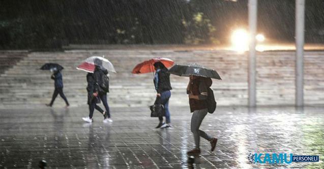 Meteoroloji'den Bazı İller İçin Şiddetli Yağış Uyarısı