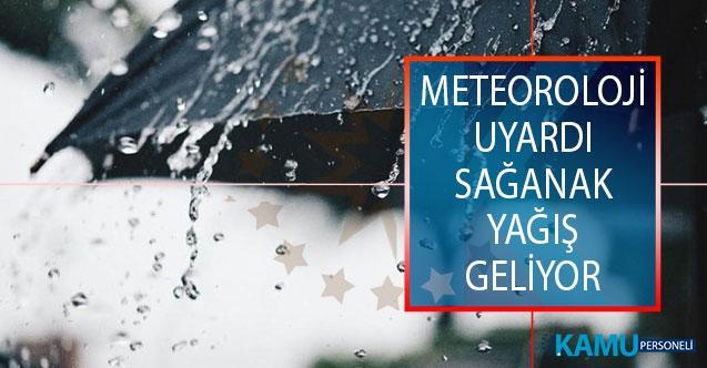 Meteoroloji'den Sağanak Yağış Uyarısı! Giresun'un, Trabzon Ve Rize'nin Yüksek Kesimlerinde Sağanak Yağış Bekleniyor