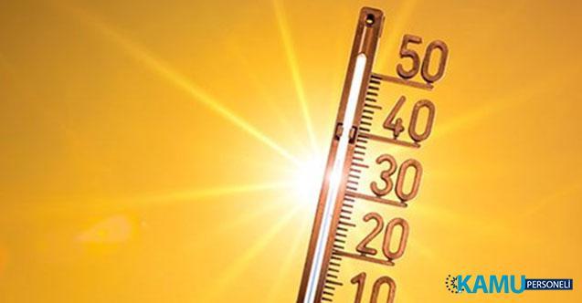 Meteoroloji'den Sıcak Hava Uyarısı! Sıcaklıklar 2 İla 5 Derece Artacak!