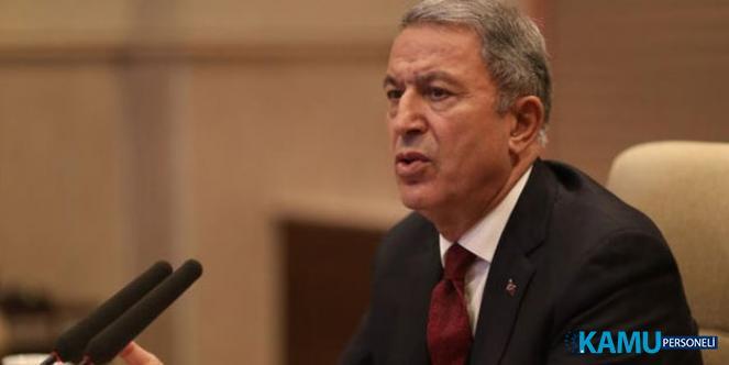Milli Savunma Bakanı Akar'dan Fırat'ın Doğusuna Olası Harekat Açıklaması