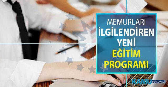 Milyonlarca Kamu Personelini İlgilendiren Eğitim Programı