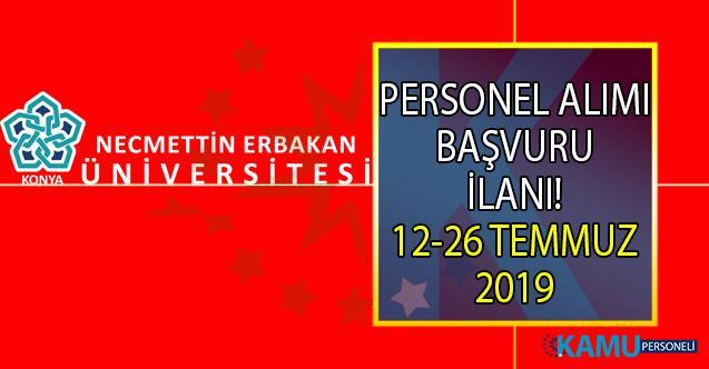 Necmettin Erbakan Üniversitesi 26 temmuza kadar 24 öğretim üyesi alımı yapacaktır!