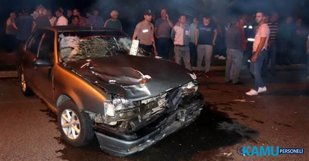 Ordu'da Feci Kaza ! Otomobil Yayaların Arasına Daldı: Ölüler ve Yaralı Var