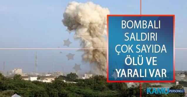 Somali'nin Kismayo Kentindeki Bir Otele Bomba Yüklü Araçla Saldırı Düzenlendi! Çok Sayıda Ölü ve Yaralı Var