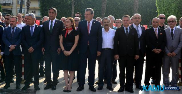 """Adana'da Çelenk Krizi Sonrası Büyükşehi'den """"çelenk töreni"""" açıklaması"""