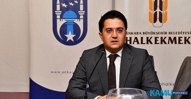 Ankara Büyükşehir Belediyesi'ne Bağlı Halk Ekmek Fabrikası Genel Müdürü Ahmet Sarıduman'ın İstifa Etti!