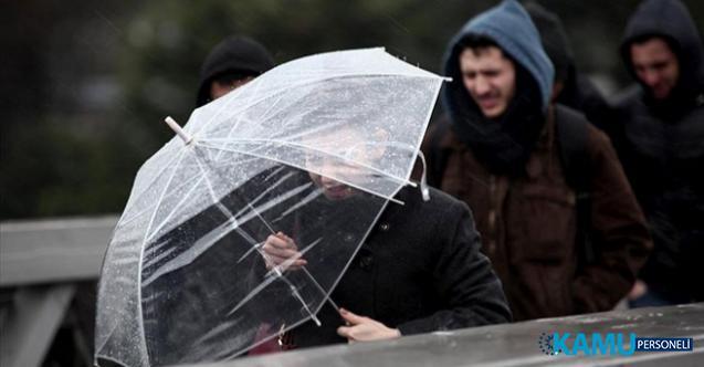 Ankara, Kırıkkale, Çankırı, Kırşehir, Yozgat, Çorum ve Konya için kuvvetli sağanak yağış uyarısı!