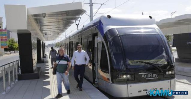 Antalya Varsak-Otogar yeni raylı sistem tramway hattı açıldı