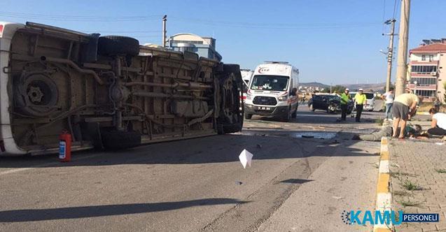 Balıkesir'de Feci Trafik Kazası! 1 Ölü, 12 Yaralı