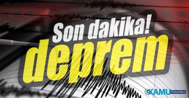 Ege'de Korkutan Deprem Oldu ! Depremin Şiddeti ve Merkez Üssü