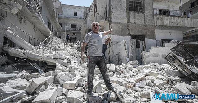 Esad Rejimi İdlib'i Bombalamaya Devam Ediyor! 6 Kişi Öldü!