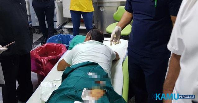 Gaziantep'te 25 Aralık Devlet Hastanesi'nde Doktora Bıçaklı Saldırı