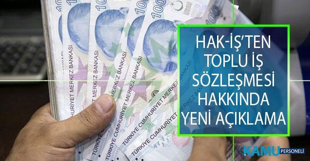 Hak-İş Genel Başkanı Mahmut Arslan'dan Toplu İş Sözleşmesi (TİS) Süreci Hakkında Yeni Açıklama!