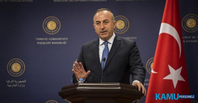 İdlib'de Türk Konvoyuna Saldırı Hakkında Bakan Çavuşoğlu'ndan Açıklama