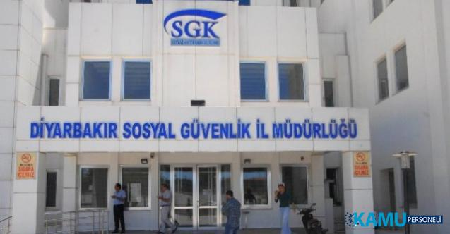 İŞKUR aracılığı ile Diyarbakır Sosyal Güvenlik il müdürlüğüne 05 Ağustos'a kadar KPSS şartsız personel alımı yapılacak!