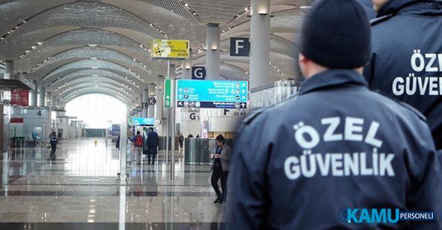 İŞKUR, KPSS şartsız havalimanı Güvenlik Görevlisi alımı için yeni iş başvuru ilanı yayınladı!