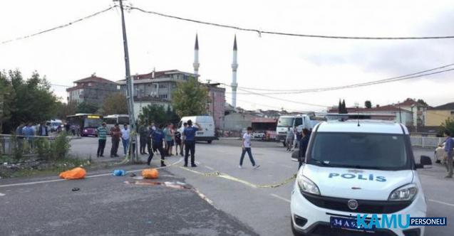 İstanbul, Sultanbeyli'de Kamyonun Altında Kalan Motosikletli 2 Kişi Feci Şekilde Can Verdi!